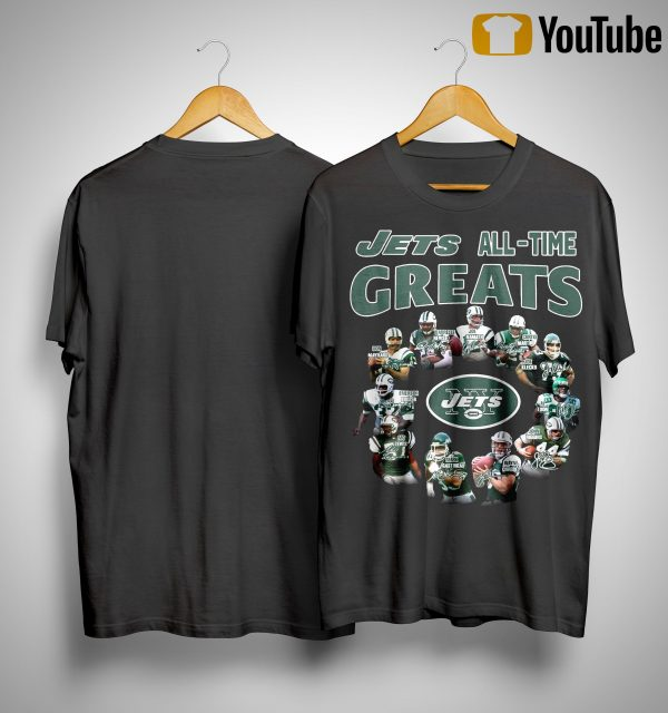 New York Jets All Time Great Shirt