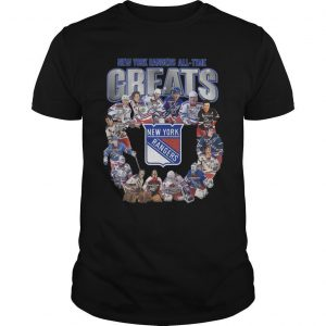 New York Rangers All Time Greats Shirt