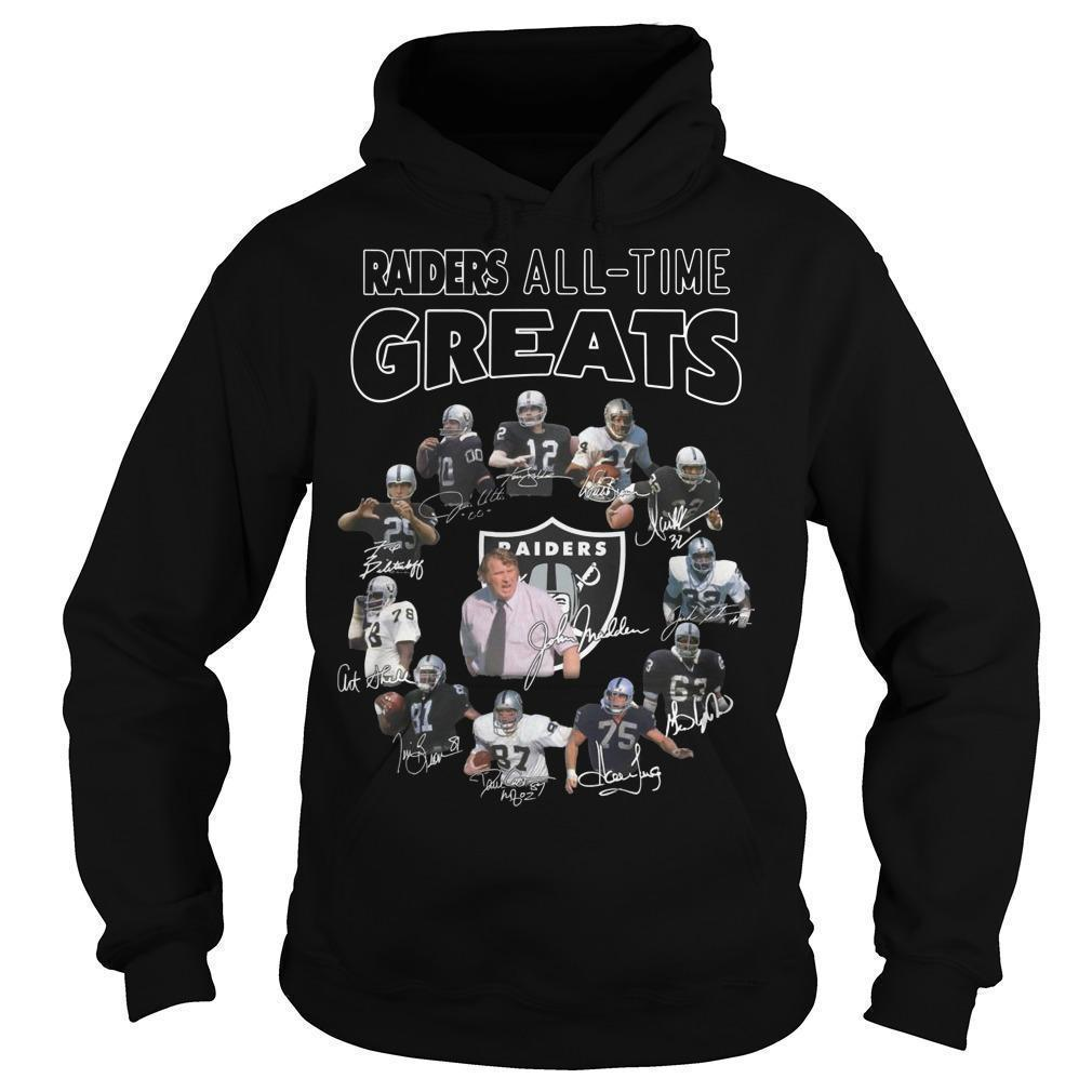 Oakland Raiders All Time Greats Hoodie