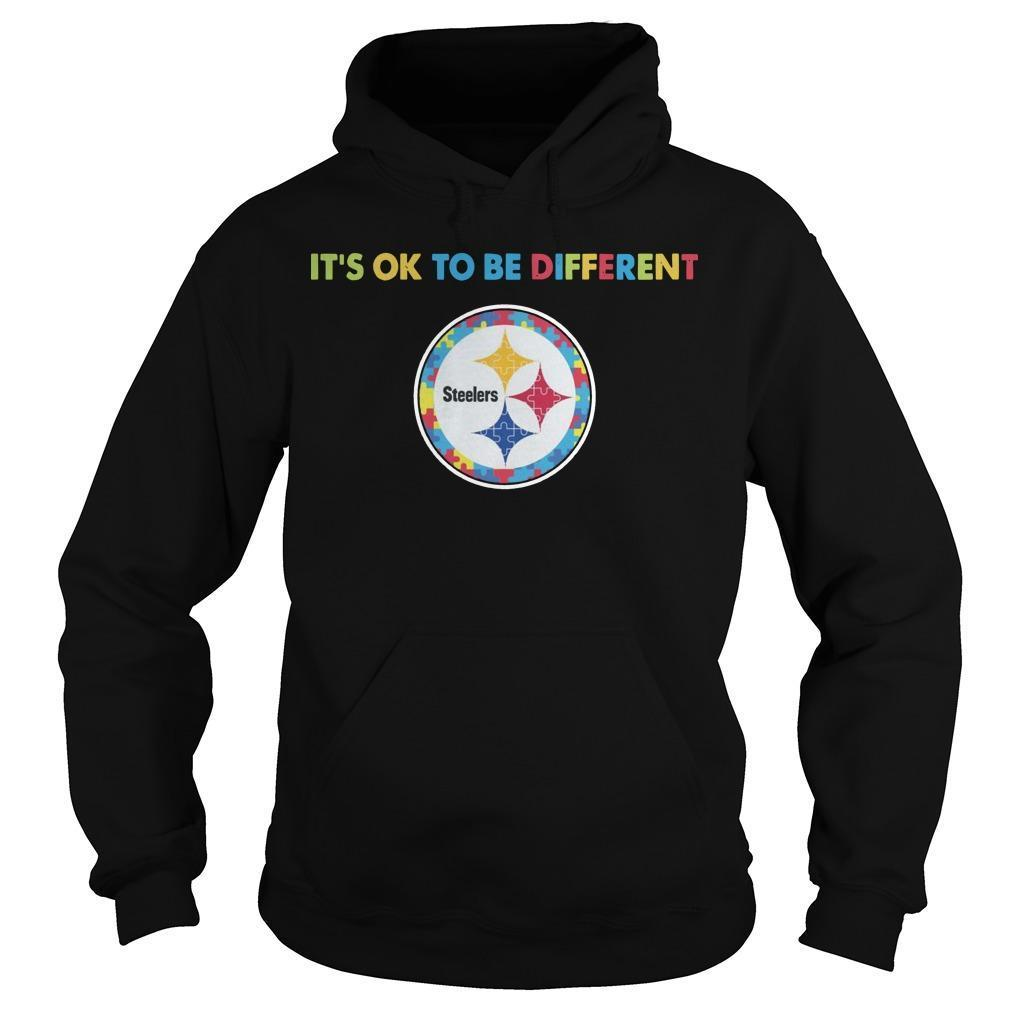 Pittsburgh Steeler It's Ok To Be Different Hoodie