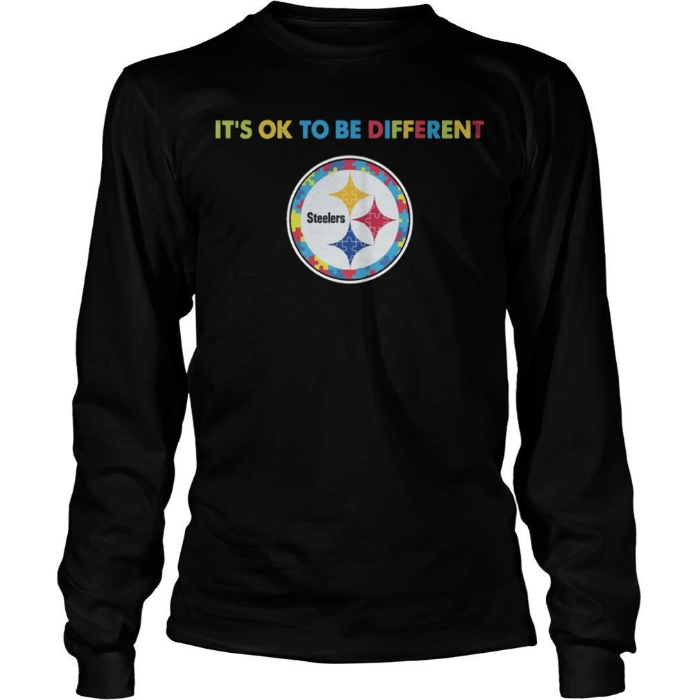 Pittsburgh Steeler It's Ok To Be Different Longsleeve