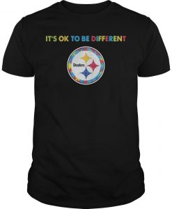 Pittsburgh Steeler It's Ok To Be Different Shirt