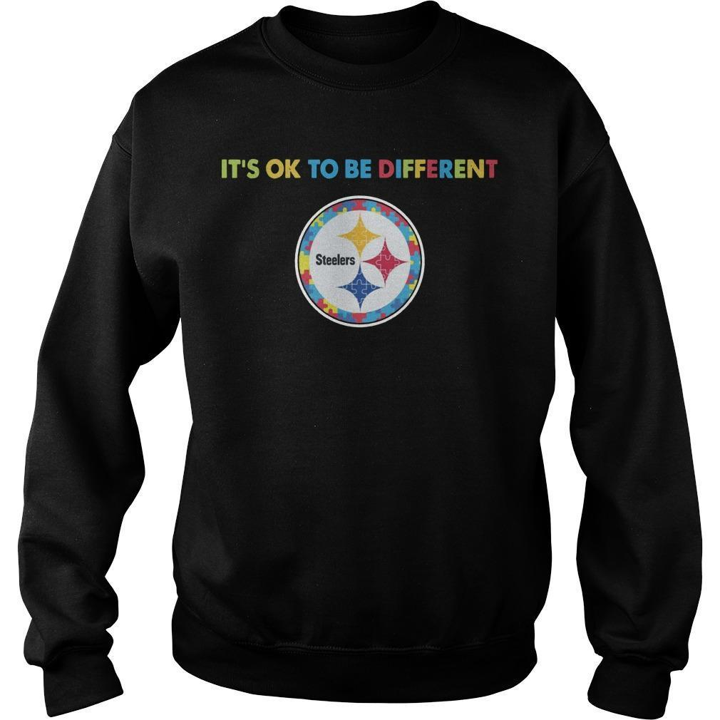 Pittsburgh Steeler It's Ok To Be Different Sweater