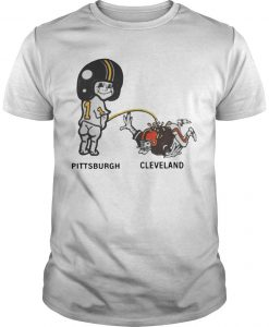 Pittsburgh Steelers Peeing On Cleveland Browns Sassy Shirt