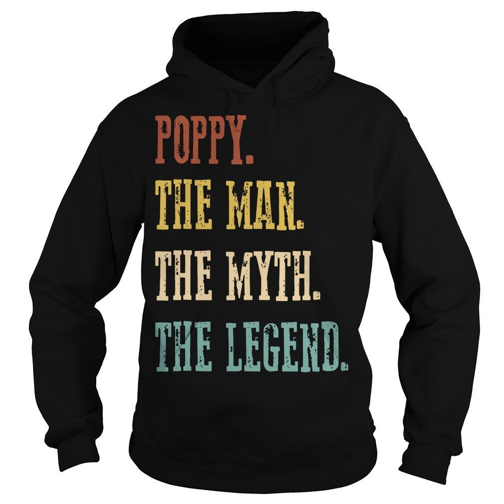 Poppy The Man The Myth The Legend Hoodie