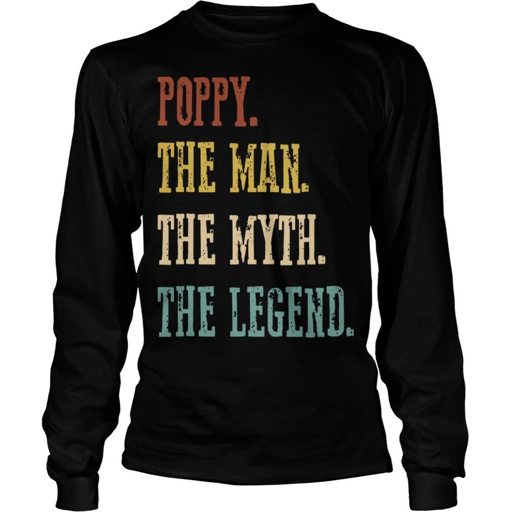 Poppy The Man The Myth The Legend Longsleeve