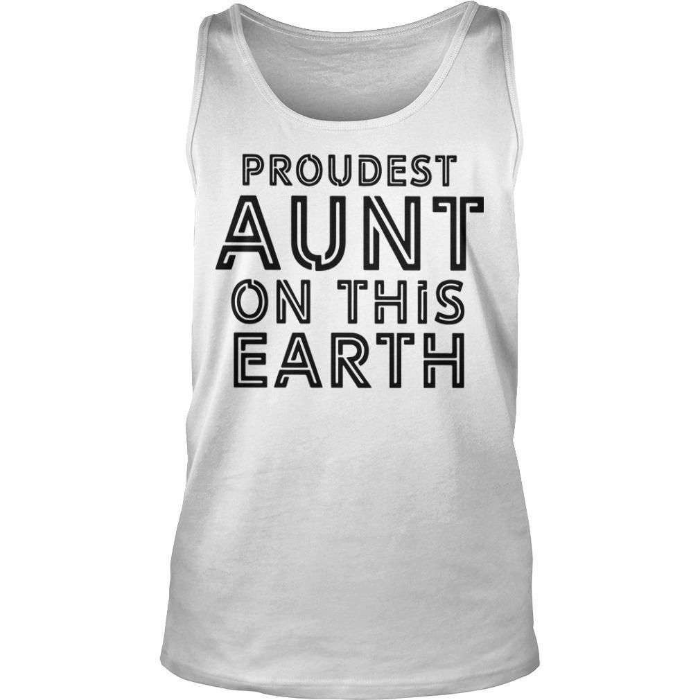 Proudest Aunt On The Earth Tank Top