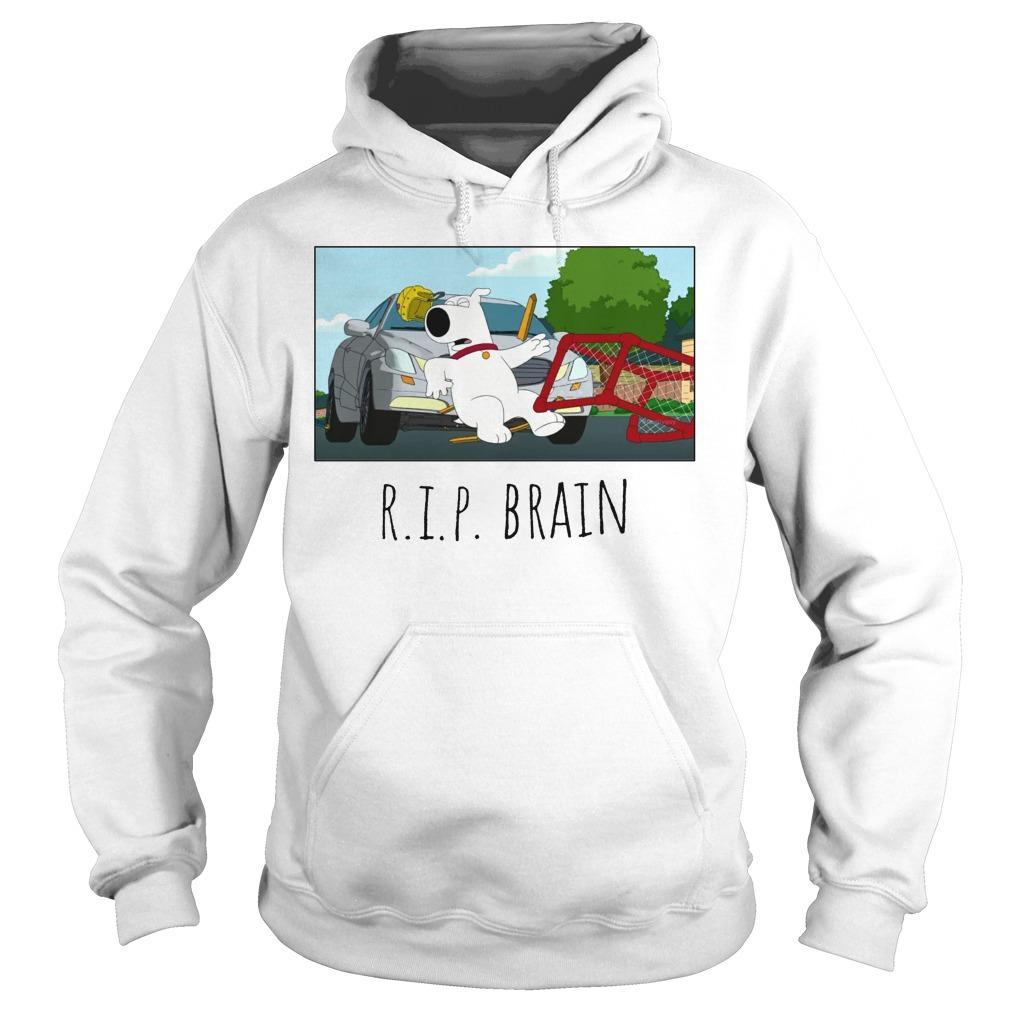 RIP Brain Hoodie