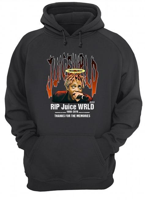 Rip Juice Wrld 1998 2019 Thanks For The Memories Hoodie