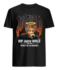 Rip Juice Wrld 1998 2019 Thanks For The Memories Shirt