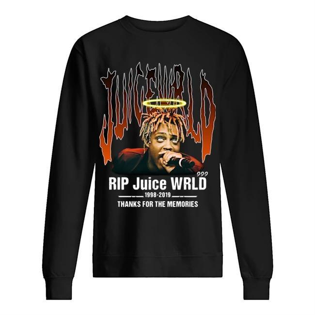 Rip Juice Wrld 1998 2019 Thanks For The Memories Sweater