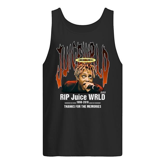 Rip Juice Wrld 1998 2019 Thanks For The Memories Tank Top