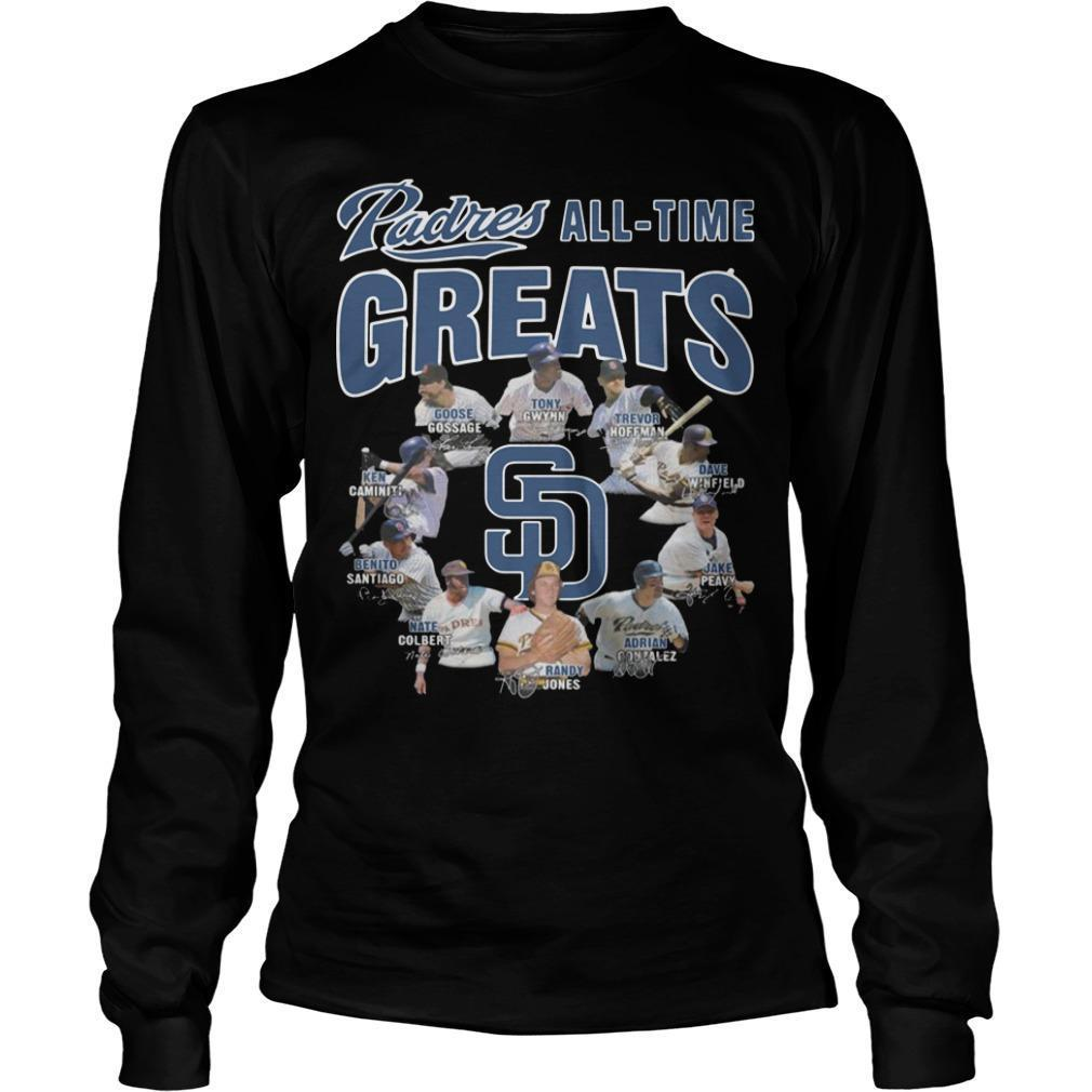 San Diego Padres All Time Greats Longsleeve