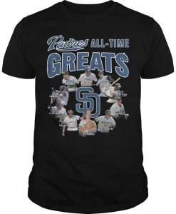 San Diego Padres All Time Greats Shirt
