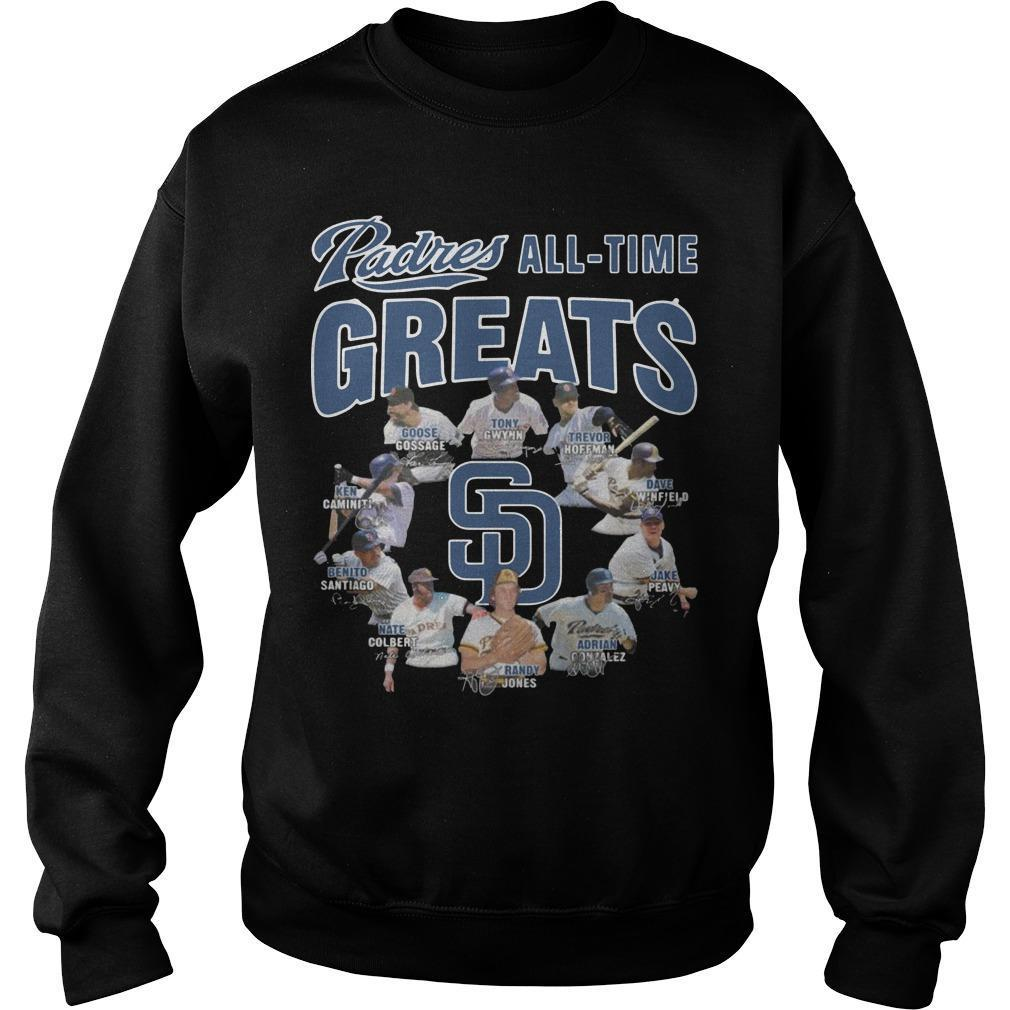 San Diego Padres All Time Greats Sweater