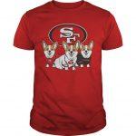 San Francisco 49ers Corgi Shirt