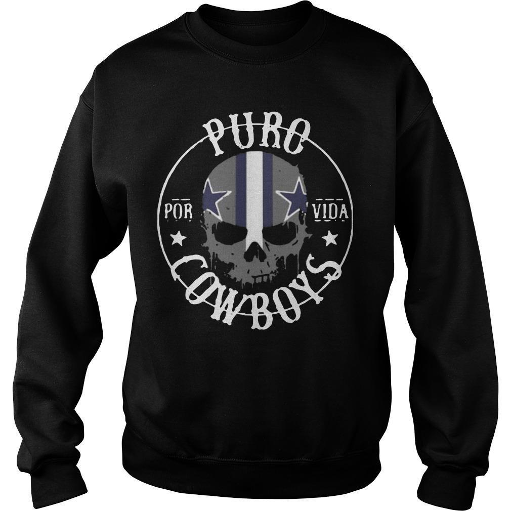 Skull Dallas Cowboys Kiss Sweater