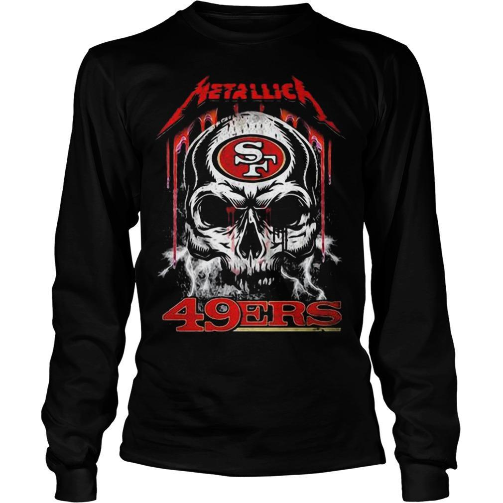 Skull San Francisco 49ers Kiss Longsleeve