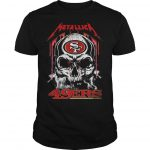 Skull San Francisco 49ers Kiss Shirt