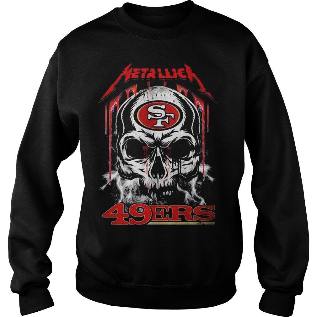 Skull San Francisco 49ers Kiss Sweater