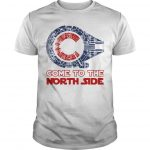 Star Wars Millennium Falcon Chicago Cubs Come To The North Side Shirt