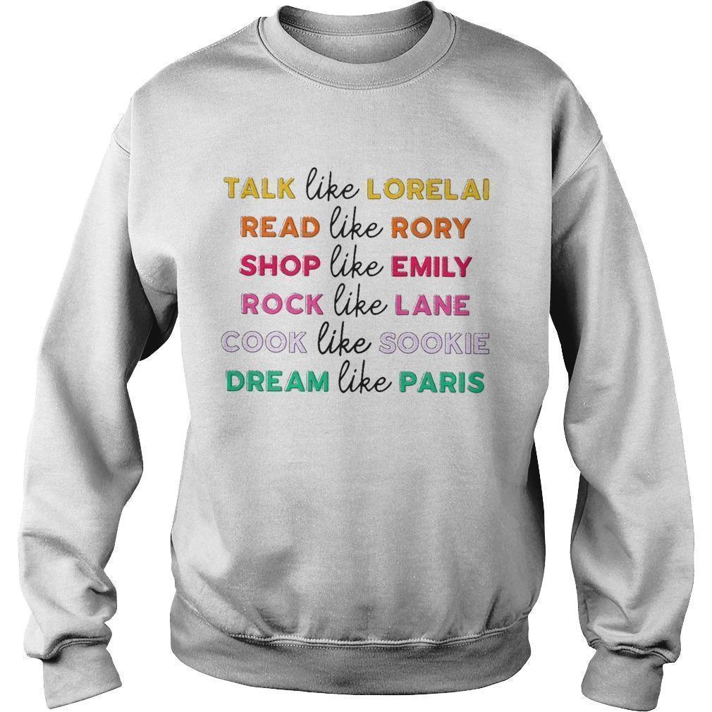 Talk Like Lorelai Read Like Rory Shop Like Emily Rock Like Lane Sweater