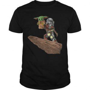 The Mandalorian Baby Yoda Fett The Lion King Shirt