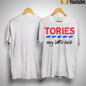 Tories Very Little Help T Shirt