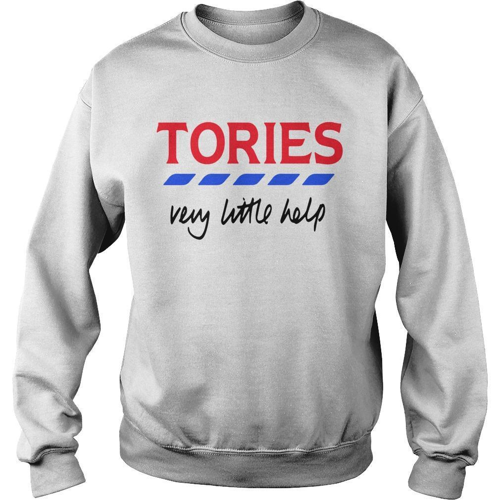 Tories Very Little Help T Sweater