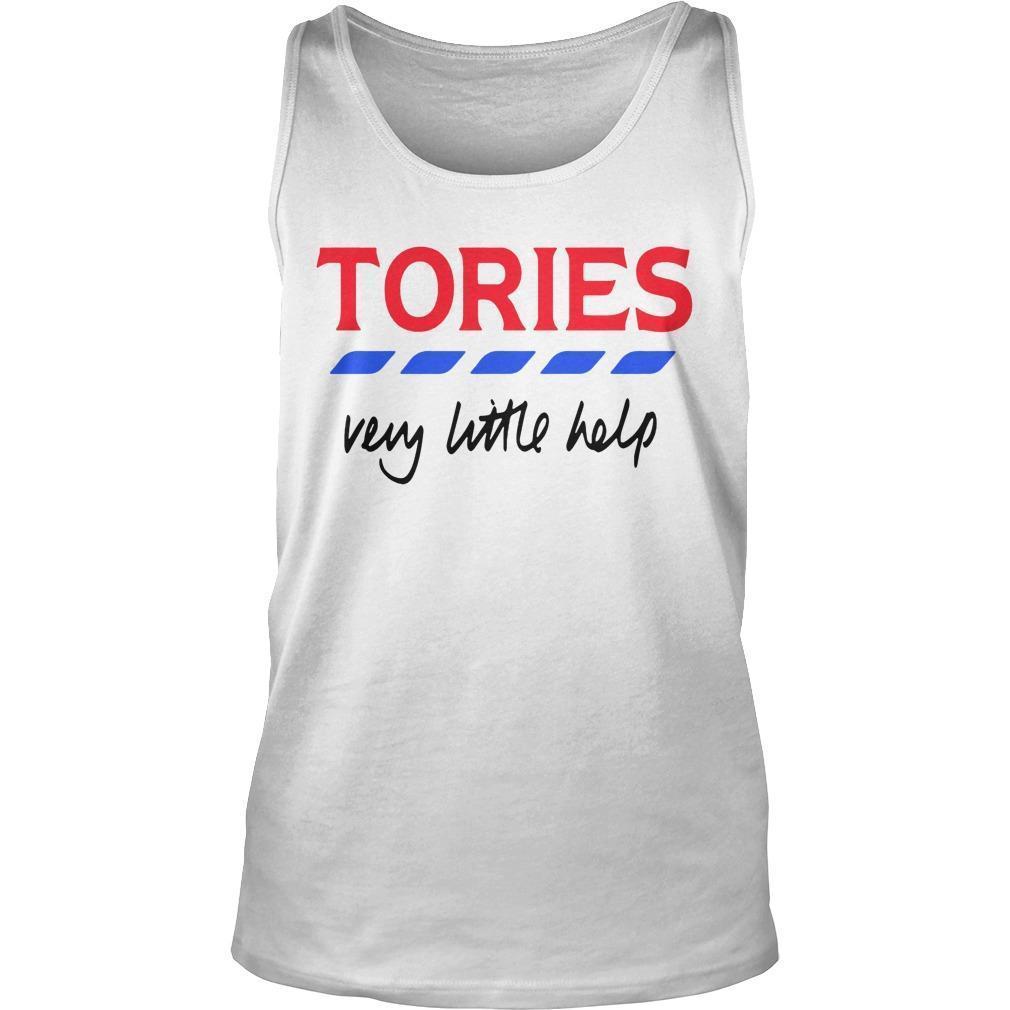 Tories Very Little Help T Tank Top