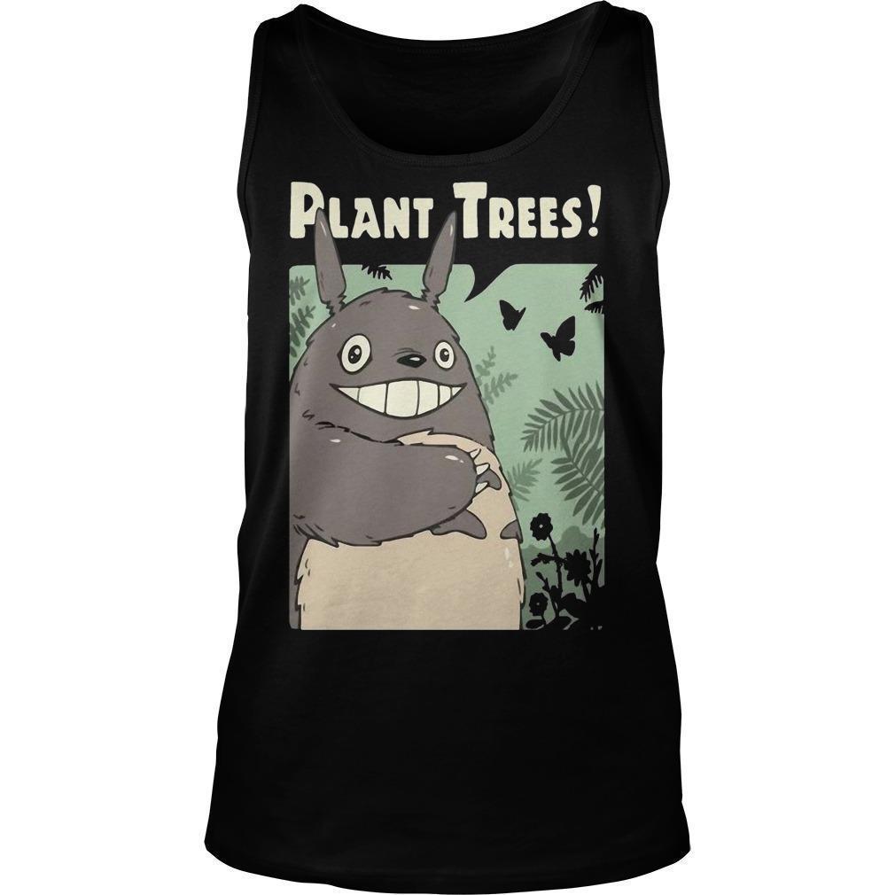 Totoro Plant Trees Tank Top