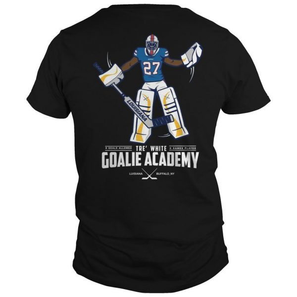 Tre White Goalie Academy Shirt