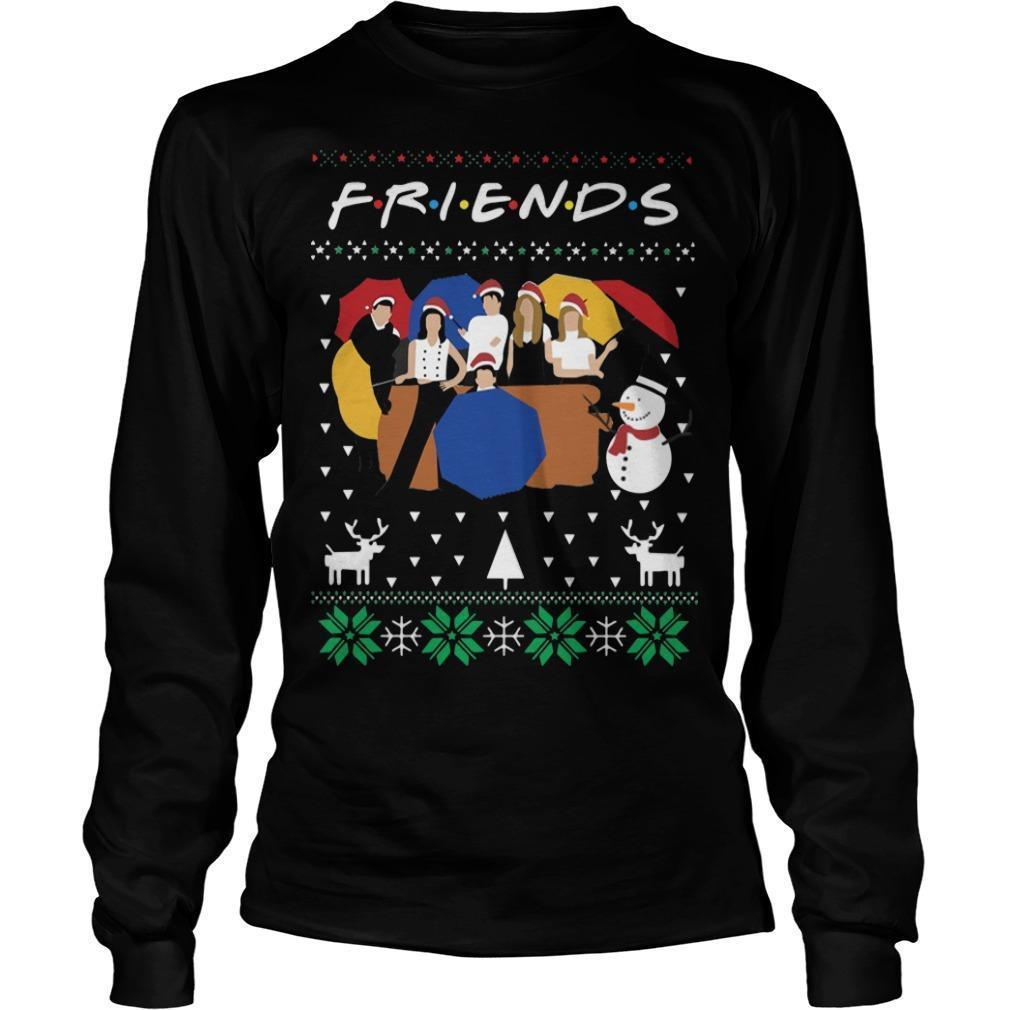 Ugly Christmas Friends Longsleeve