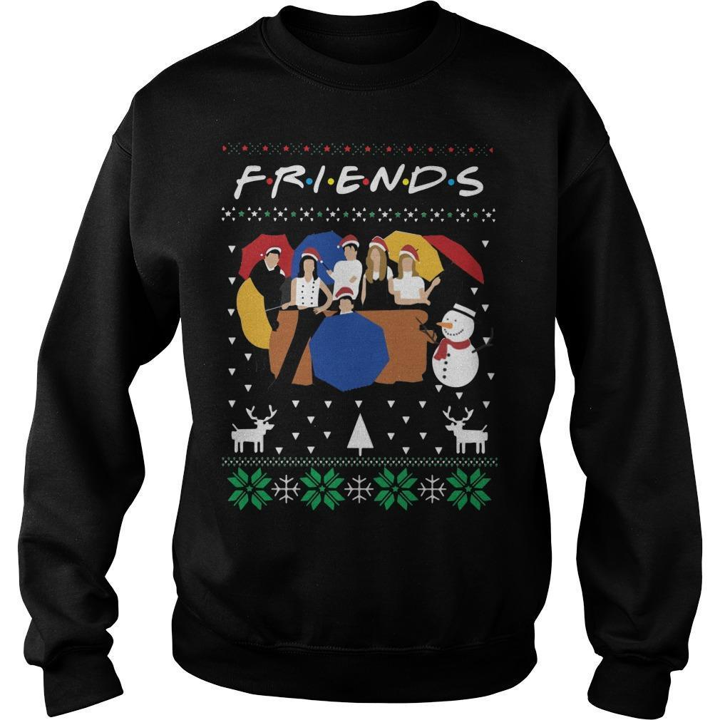 Ugly Christmas Friends Sweater