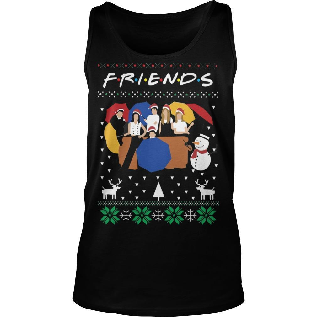 Ugly Christmas Friends Tank Top