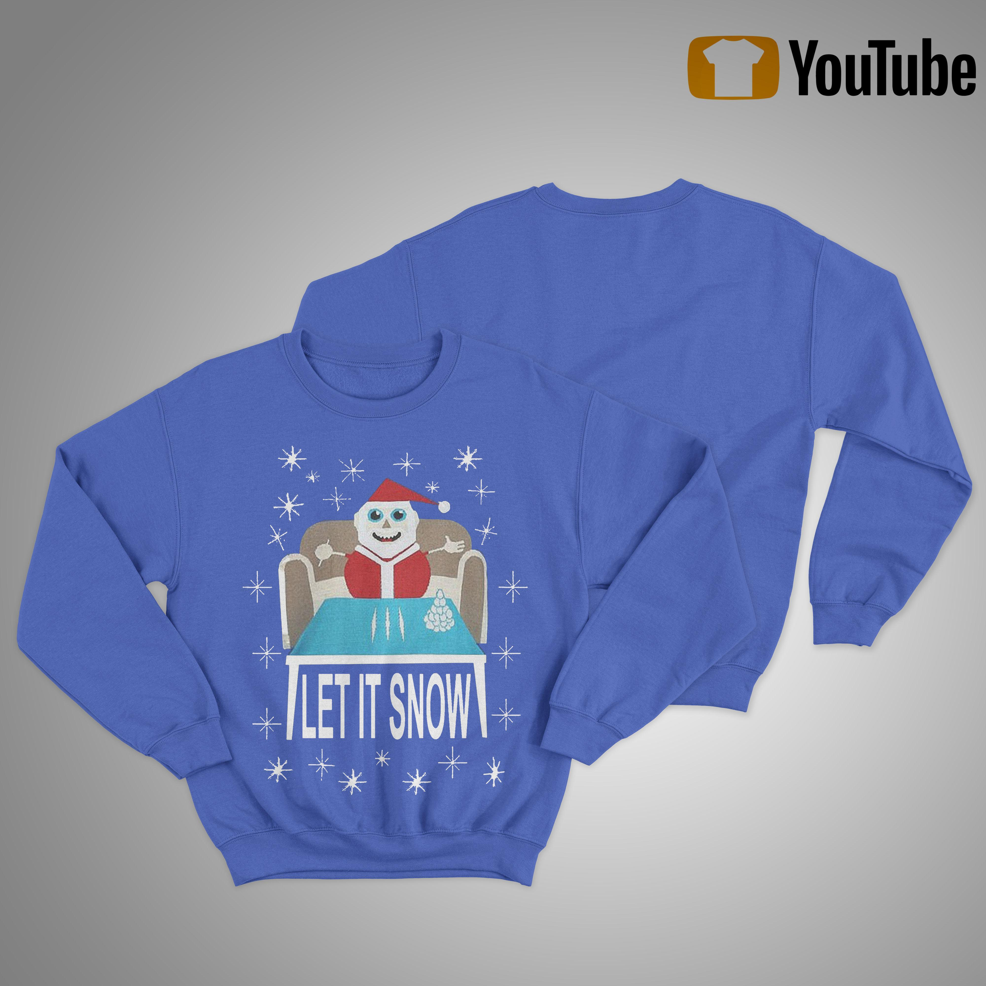 Walmart Let It Snow Sweater