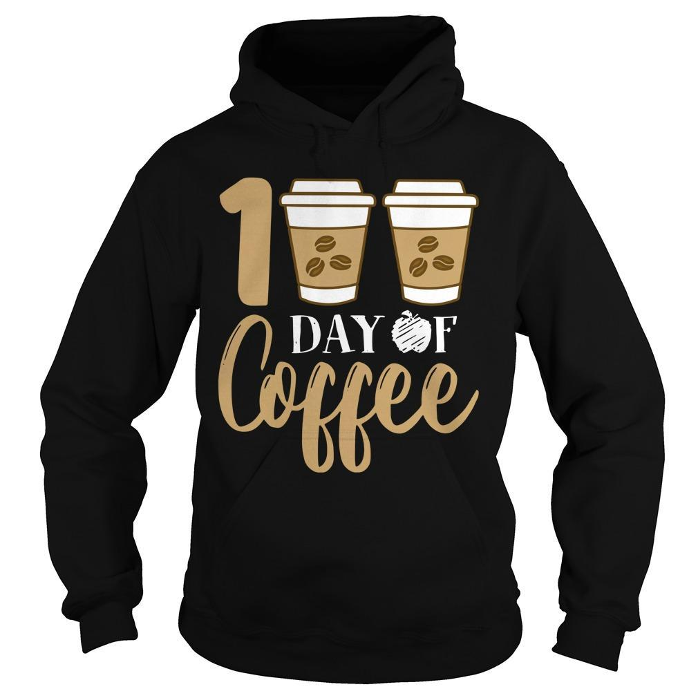 100 Days Of Coffee Hoodie