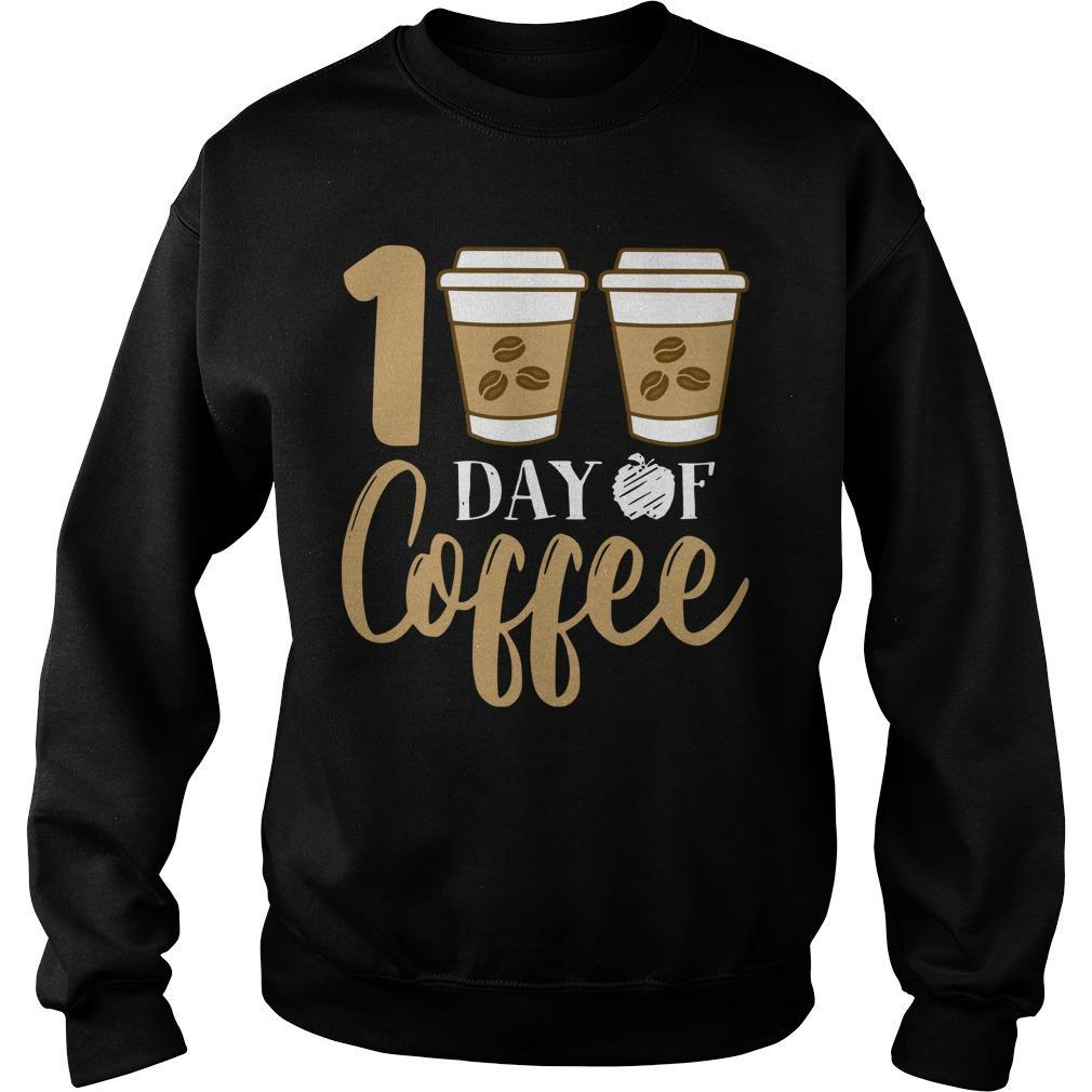 100 Days Of Coffee Sweater