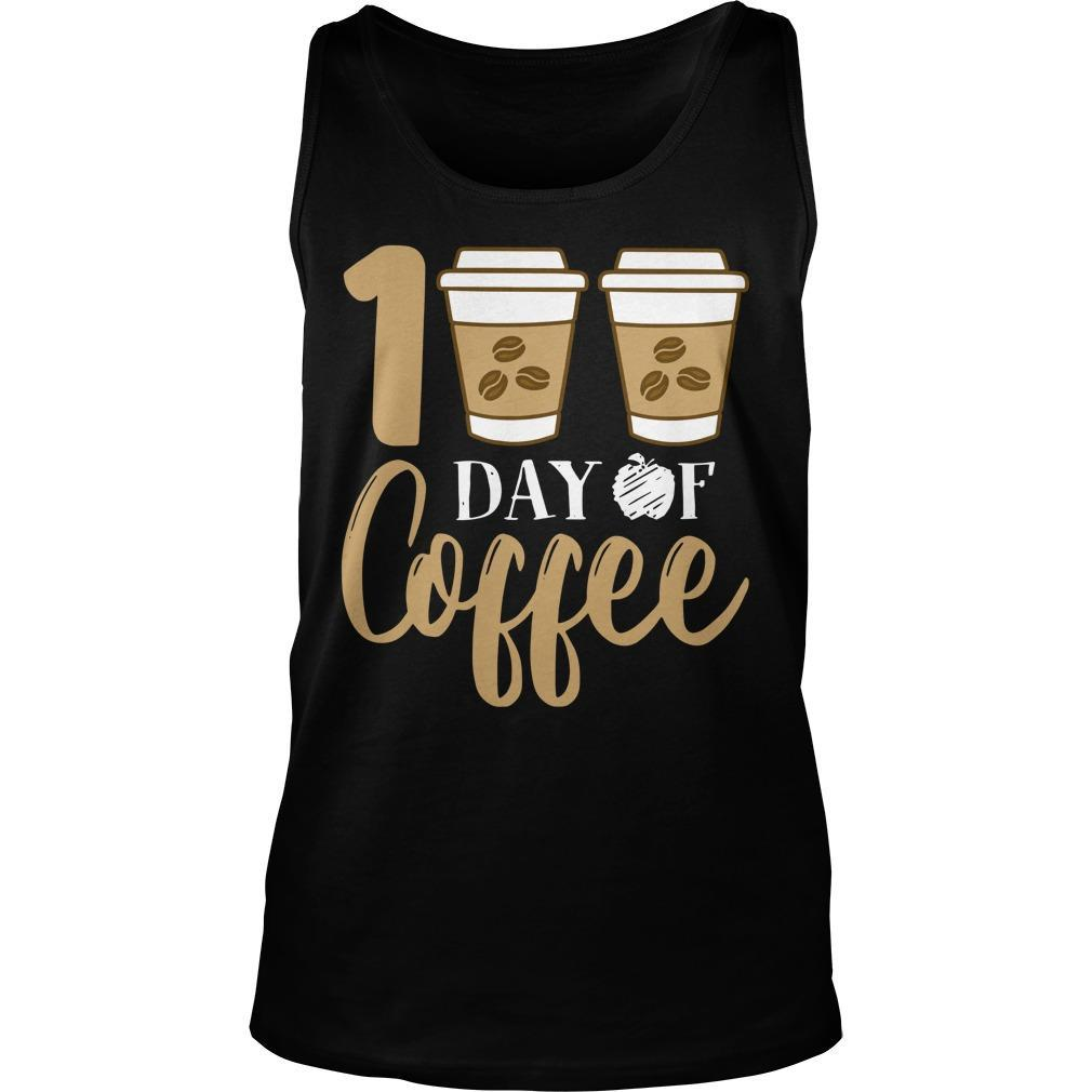 100 Days Of Coffee Tank Top