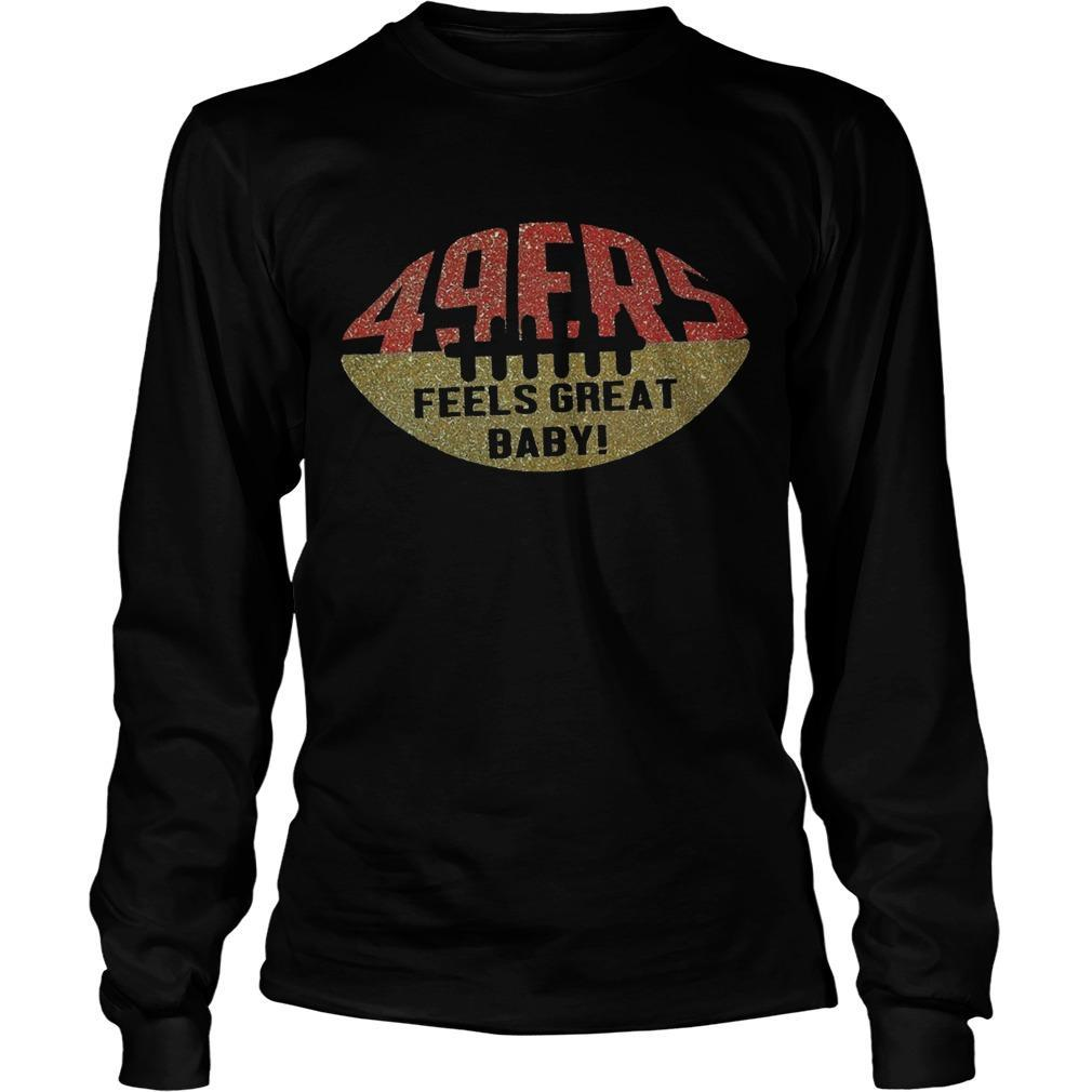 49ers Feels Great Baby Longsleeve