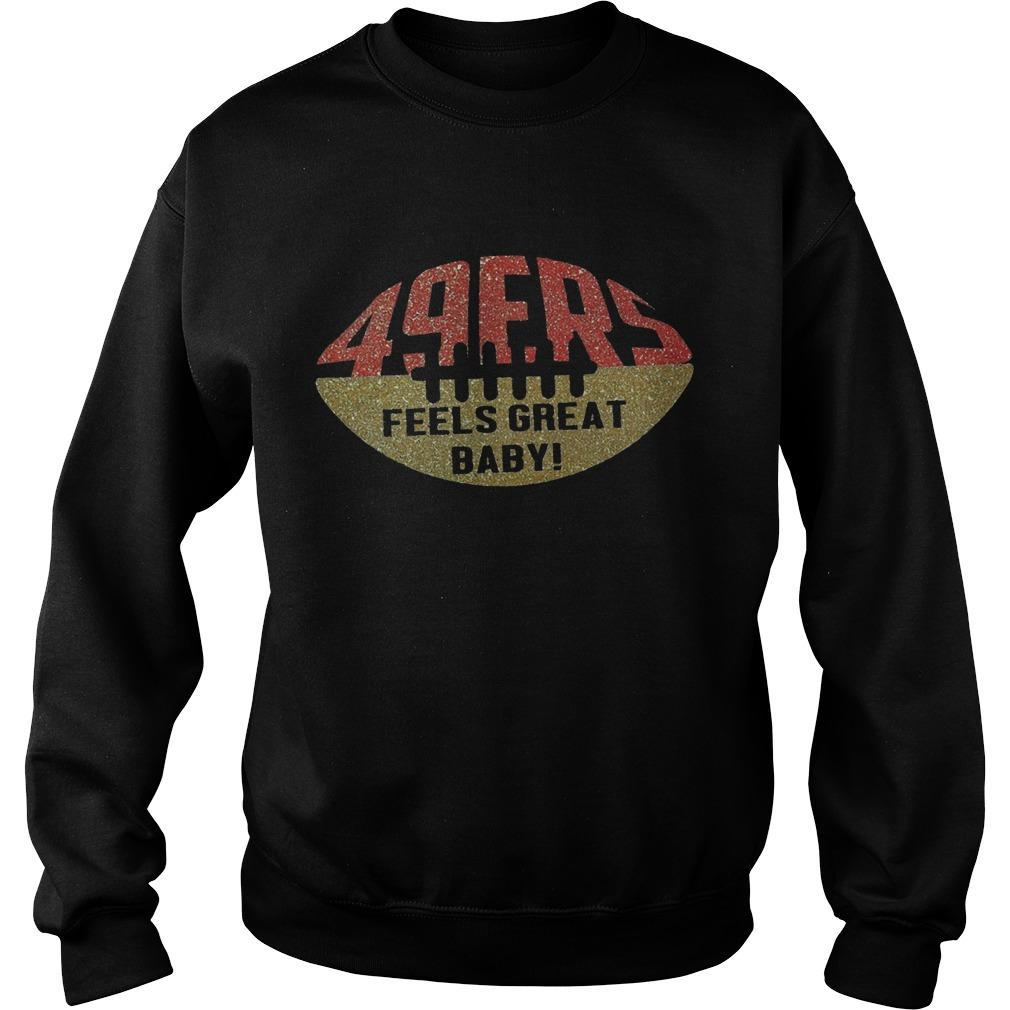 49ers Feels Great Baby Sweater