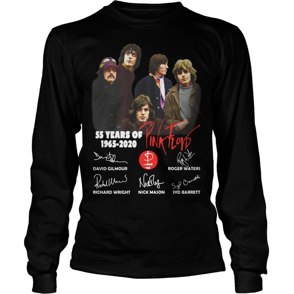 55 Years Of Pink Floyd 1965 2020 Signatures Longsleeve