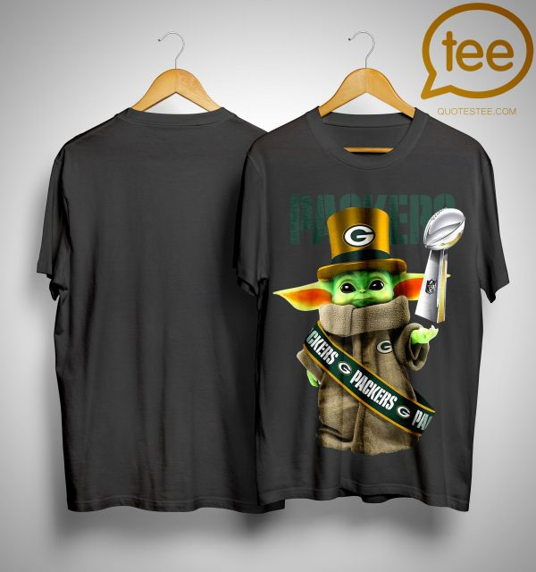 Baby Yoda Green Bay Packer Cup 2020 Shirt