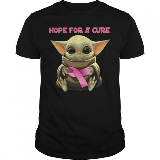 Baby Yoda Hope For A Cure Shirt