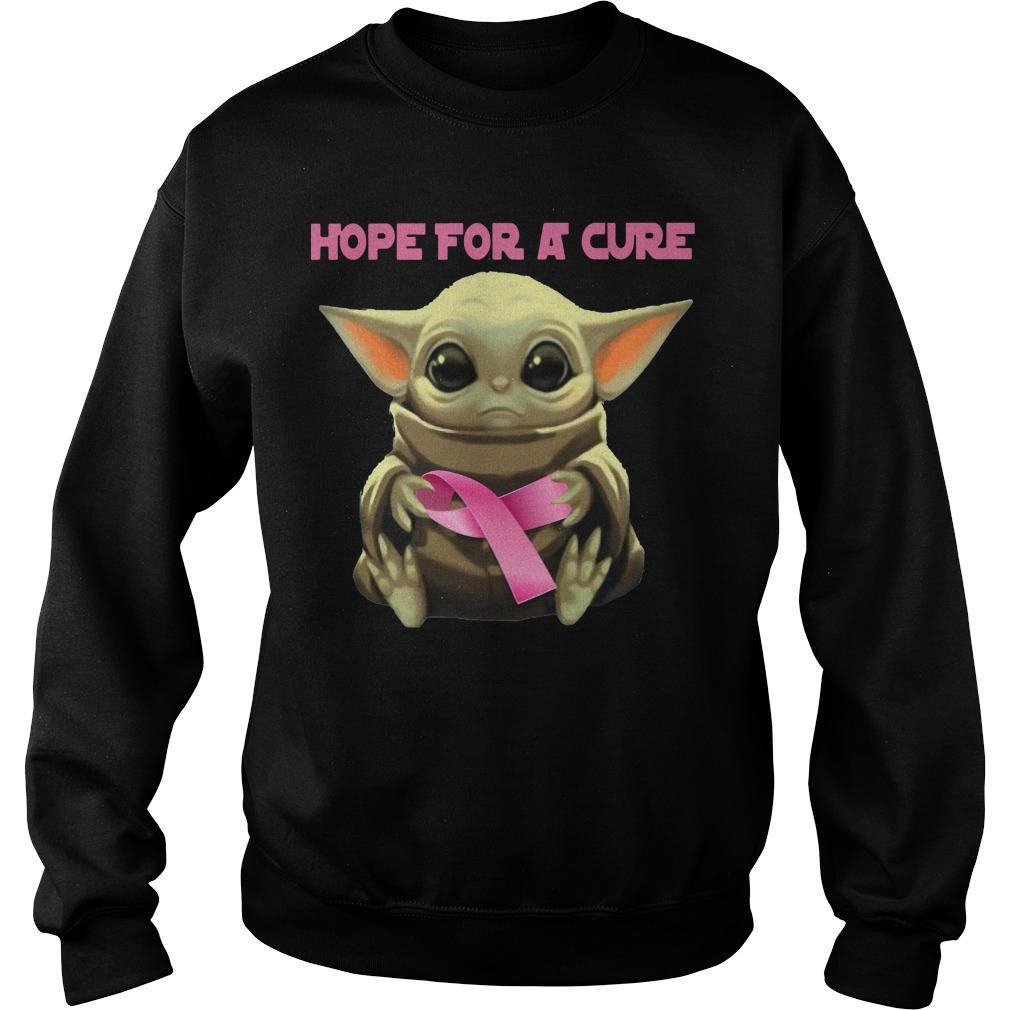Baby Yoda Hope For A Cure Sweater
