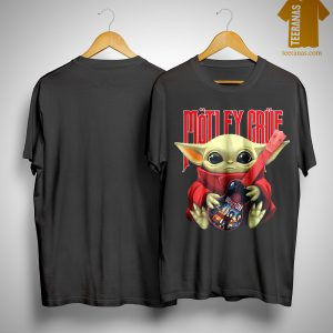 Baby Yoda Hugging Motley Crue Shirt
