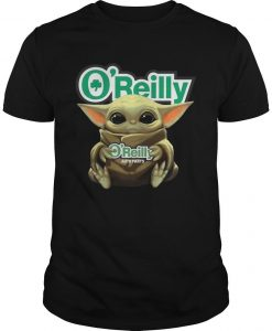 Baby Yoda Hugging O'reilly Shirt
