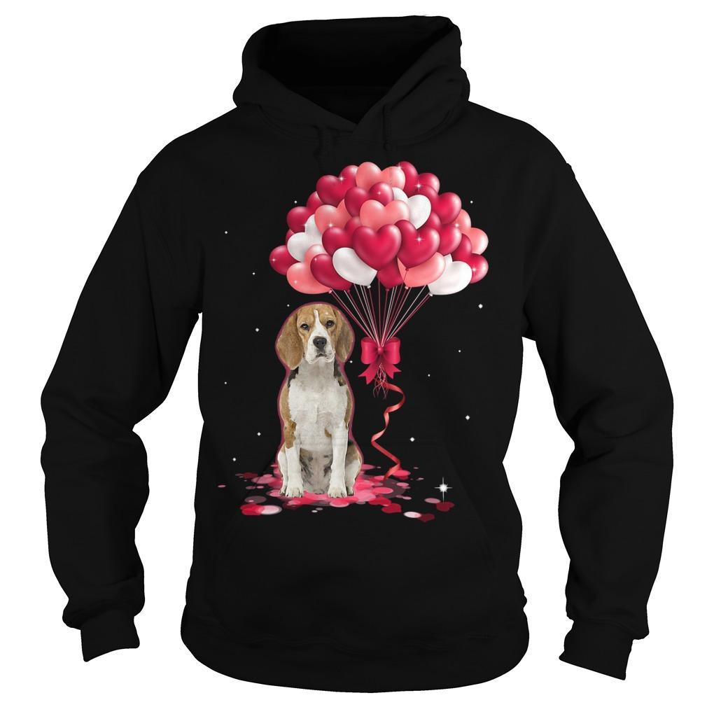 Beagle Love Balloons Hoodie