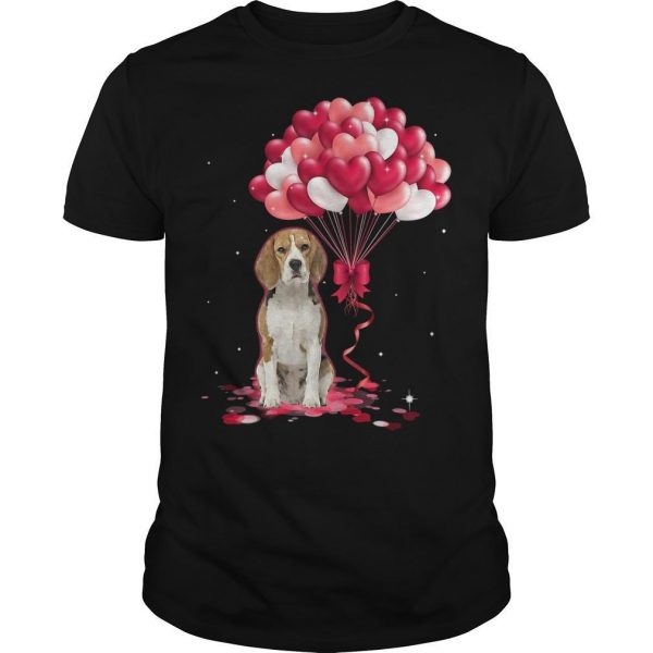 Beagle Love Balloons Shirt