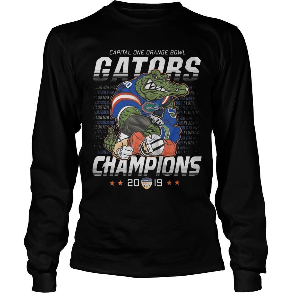 Capital One Orange Bowl Gators Champions 2019 Longsleeve